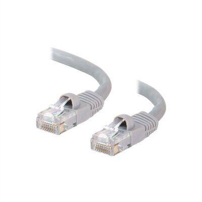 CablesToGo C2G - Câble Ethernet Cat5e (RJ-45) UTP - Gris - 1m