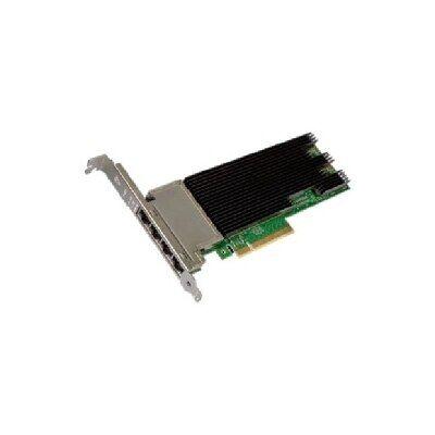 Dell Intel X710 quatre ports 10GbE, Base-T, PCIe Adaptateur, Pleine hauteur, Installation par le client