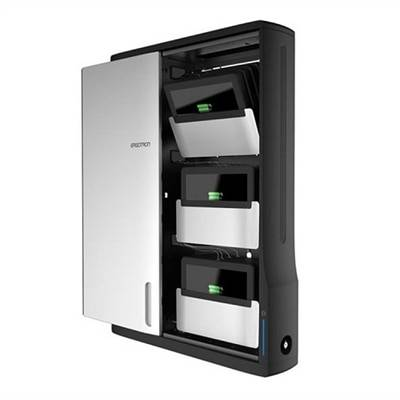 Ergotron Zip12 Charging Wall Cabinet - meuble de rangement