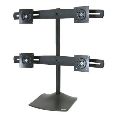 Ergotron DS100 Quad-Monitor Desk Stand - pied