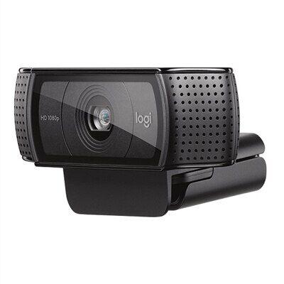 Logitech C920e webcam professionnelle HD 1080p, Noir