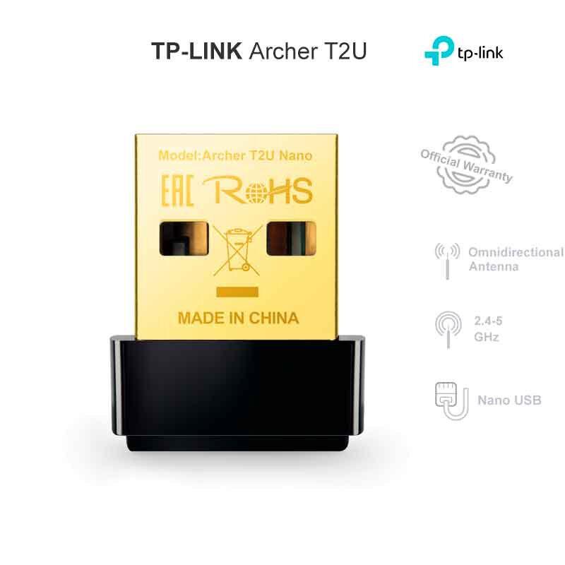 TP-LINK ARCHER T2U ADAPTATEUR WIFI NANO USB