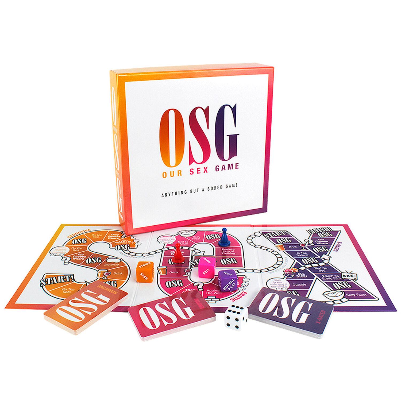 Creative OSG Notre Jeu de Sexe Jeu de Société