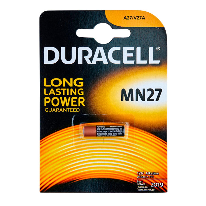 Batterier Pile Duracell A27 12V