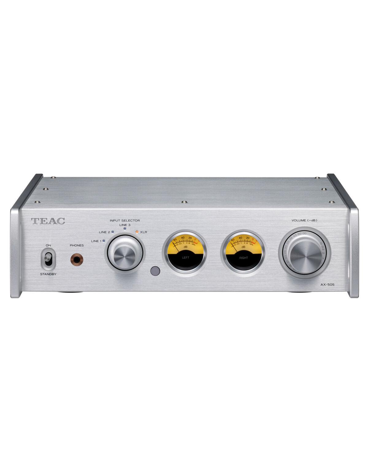 Teac Amplificateur stéréo intégré AX-505, Argent