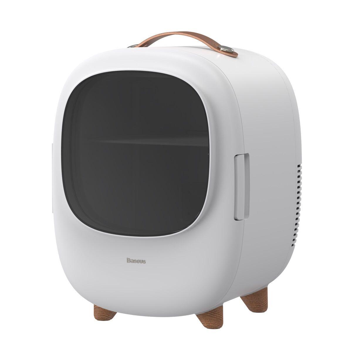 Baseus Réfrigérateur Baseus Zero Space pour le refroidissement et le chauffage, 220V + 12V, Blanc