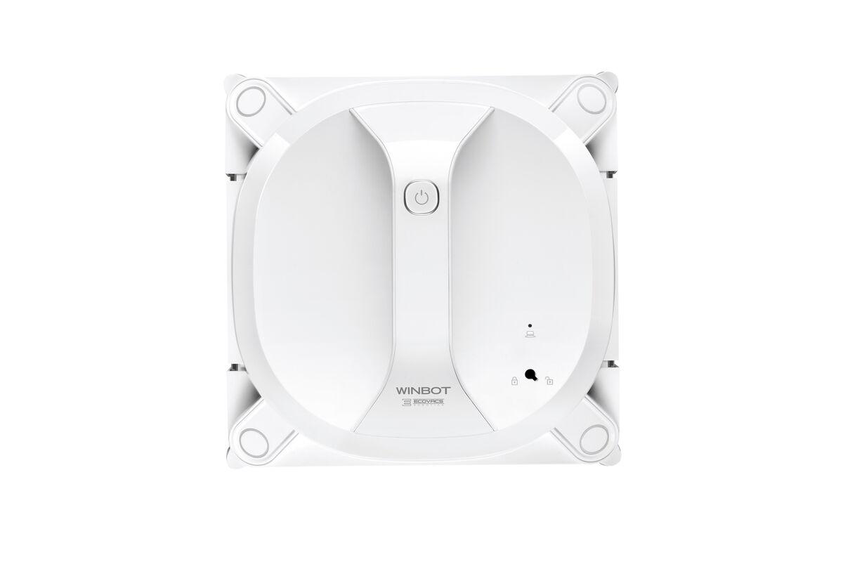Ecovacs - Robot nettoyeur de vitres sans fil WINBOT X, blanc