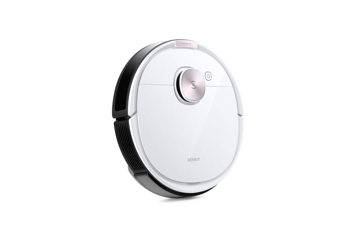 Ecovacs - T8 Robot aspirateur et nettoyeur DEEBOT OZMO T8, blanc
