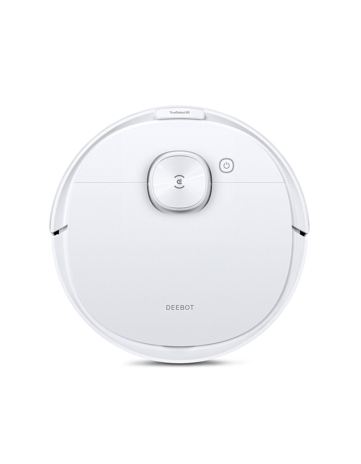 Ecovacs DEEBOT N8 Pro Aspirateur-Laveur, Blanc