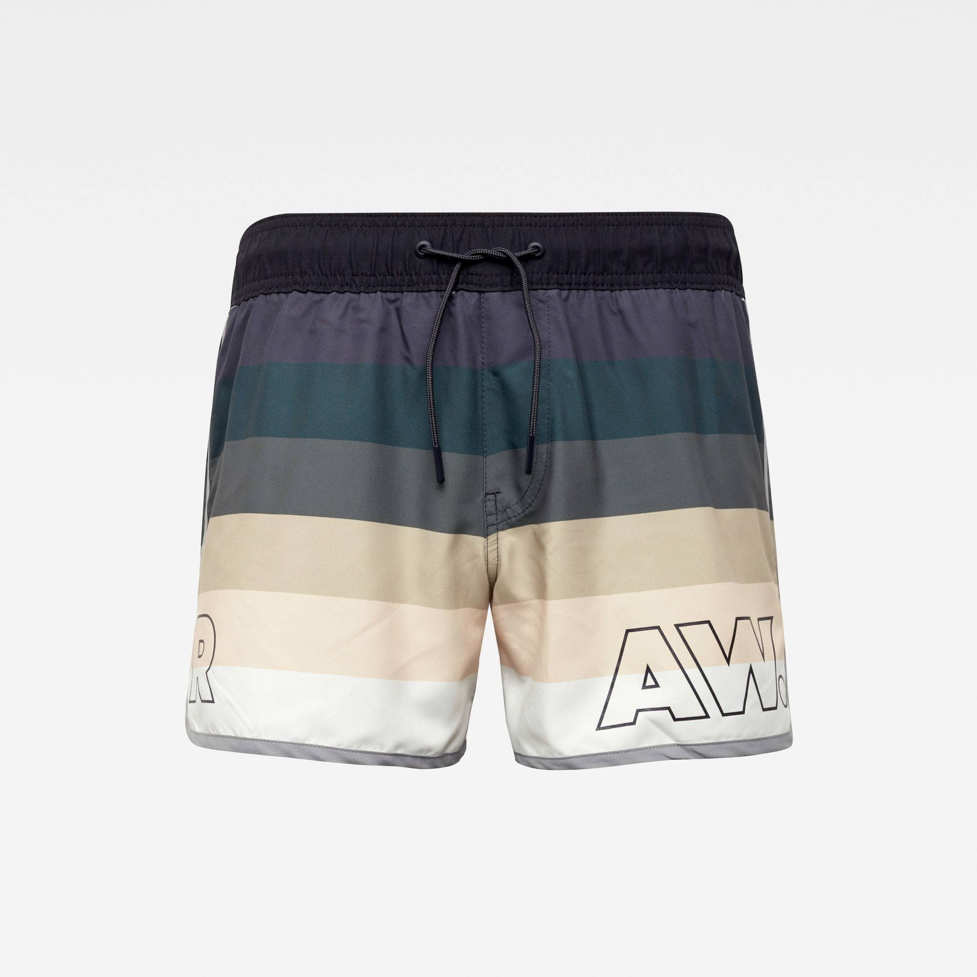 G-star RAW Hommes Short de bain Carnic Fade Multi couleur  - Taille: L M XS XL S