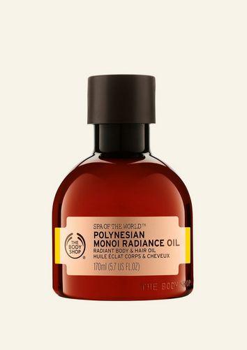The Body Shop Huile Éclat Corps Et Cheveux Au Monoï De Polynésie Spa Of The World™ 170 ML