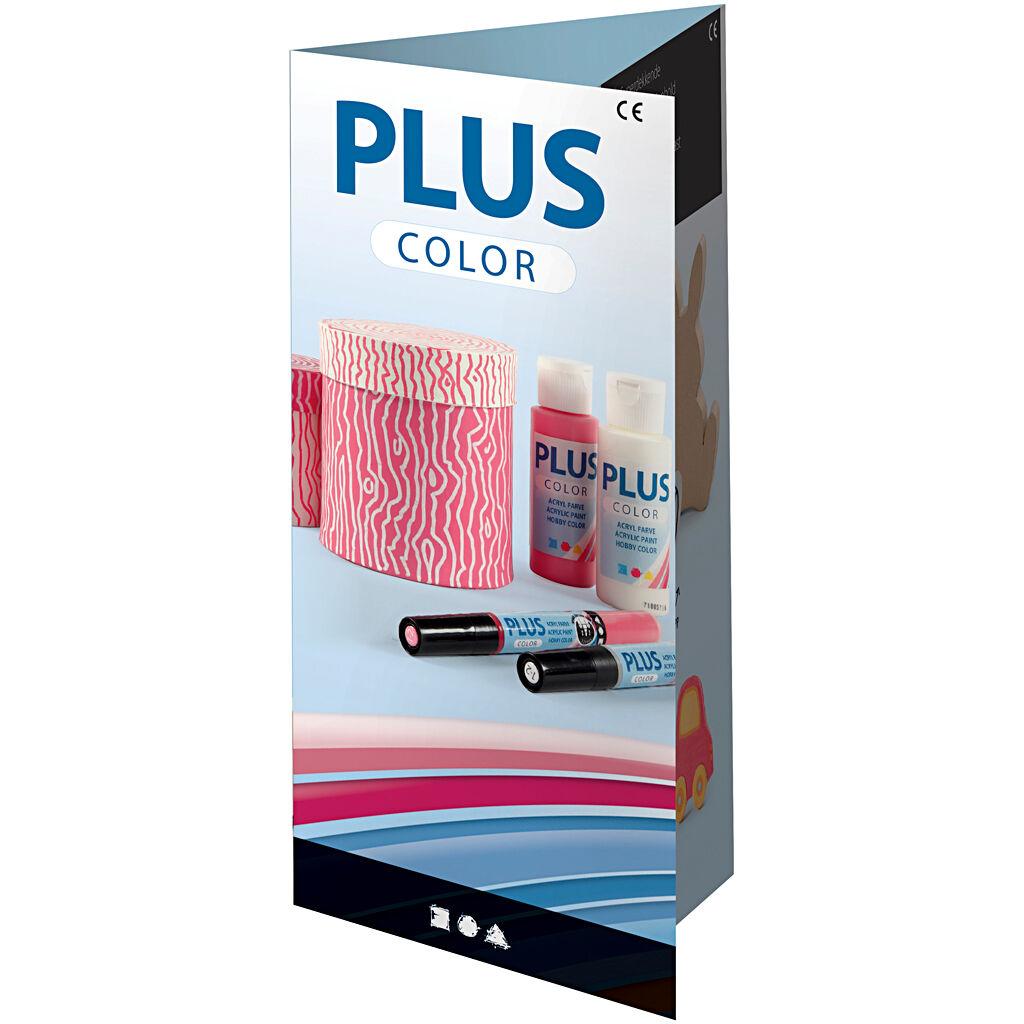 PlusColor Dépliant Plus Color, 1 Pièce