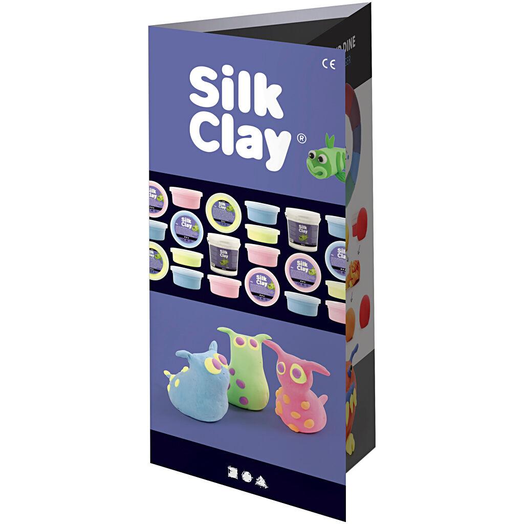 SilkClay Dépliant Silk Clay®, 1 Pièce