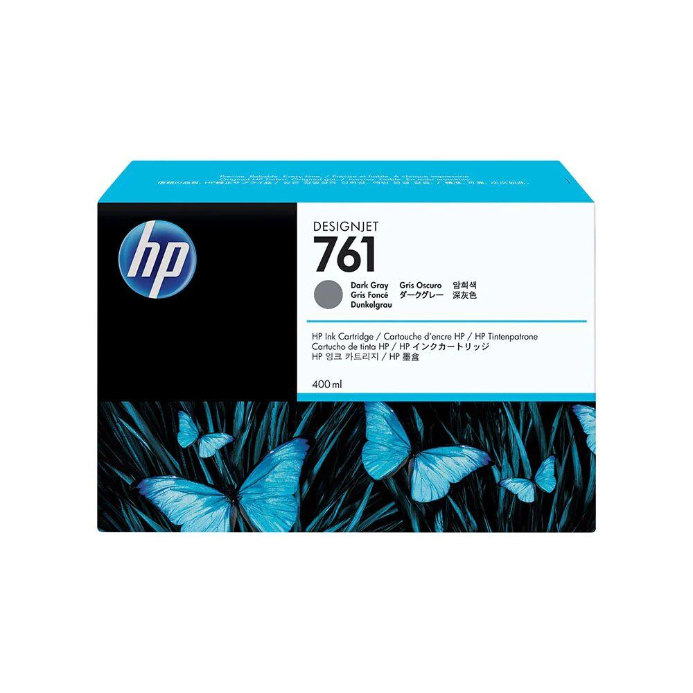 HP Cartouche d'encre d'origine HP 761 Gris Foncé - CM996A