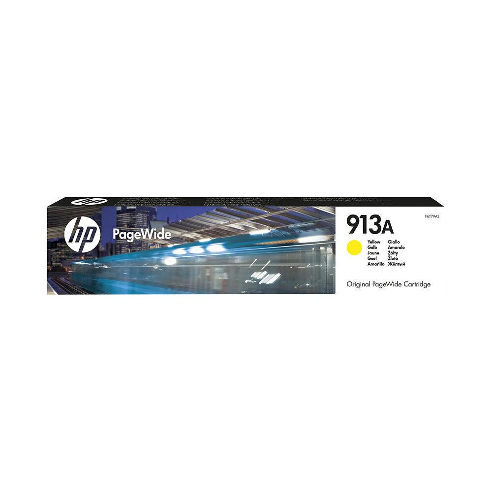 HP Cartouche d'encre d'origine HP 913A Jaune - F6T79AE