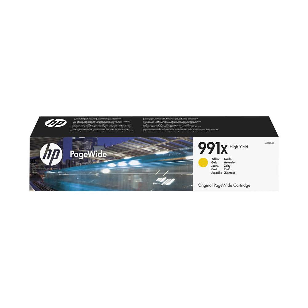 HP Cartouche d'encre d'origine HP 991X Jaune - M0J98AE