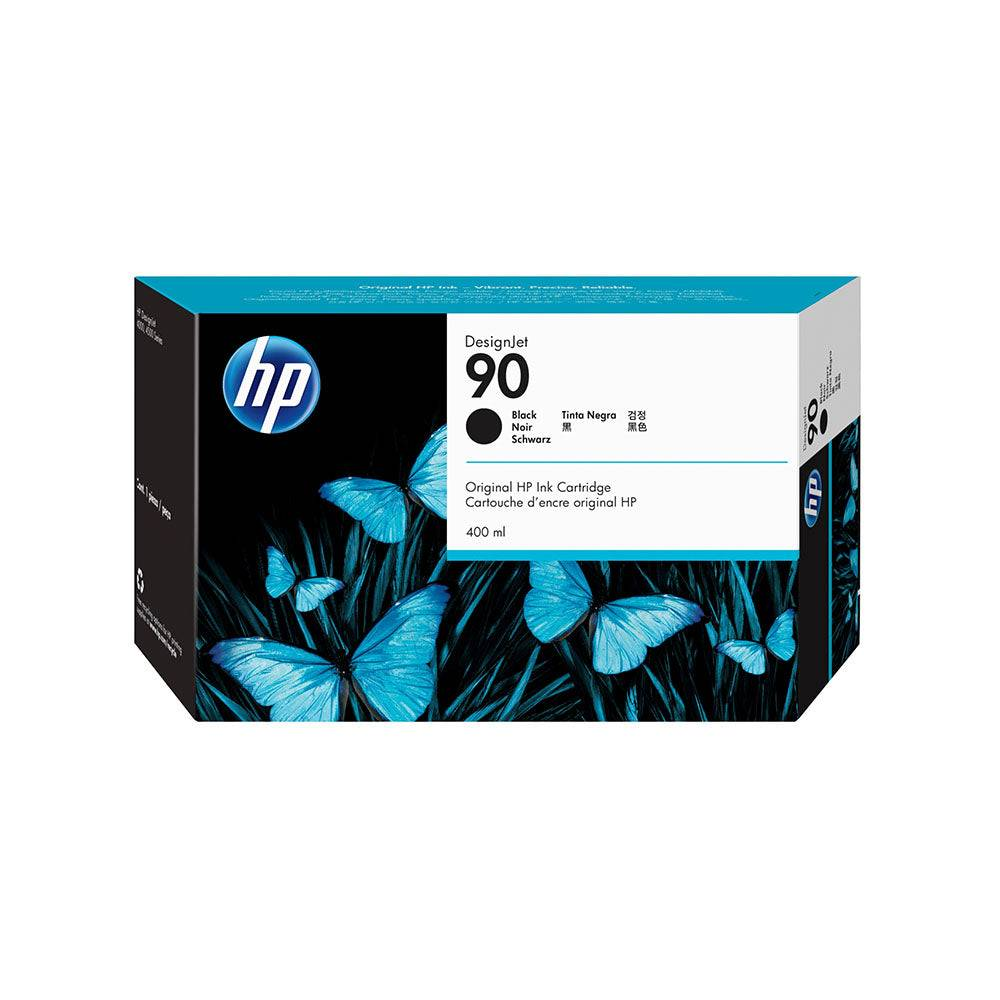 HP Cartouche d'encre d'origine HP 90 Noir - C5058A