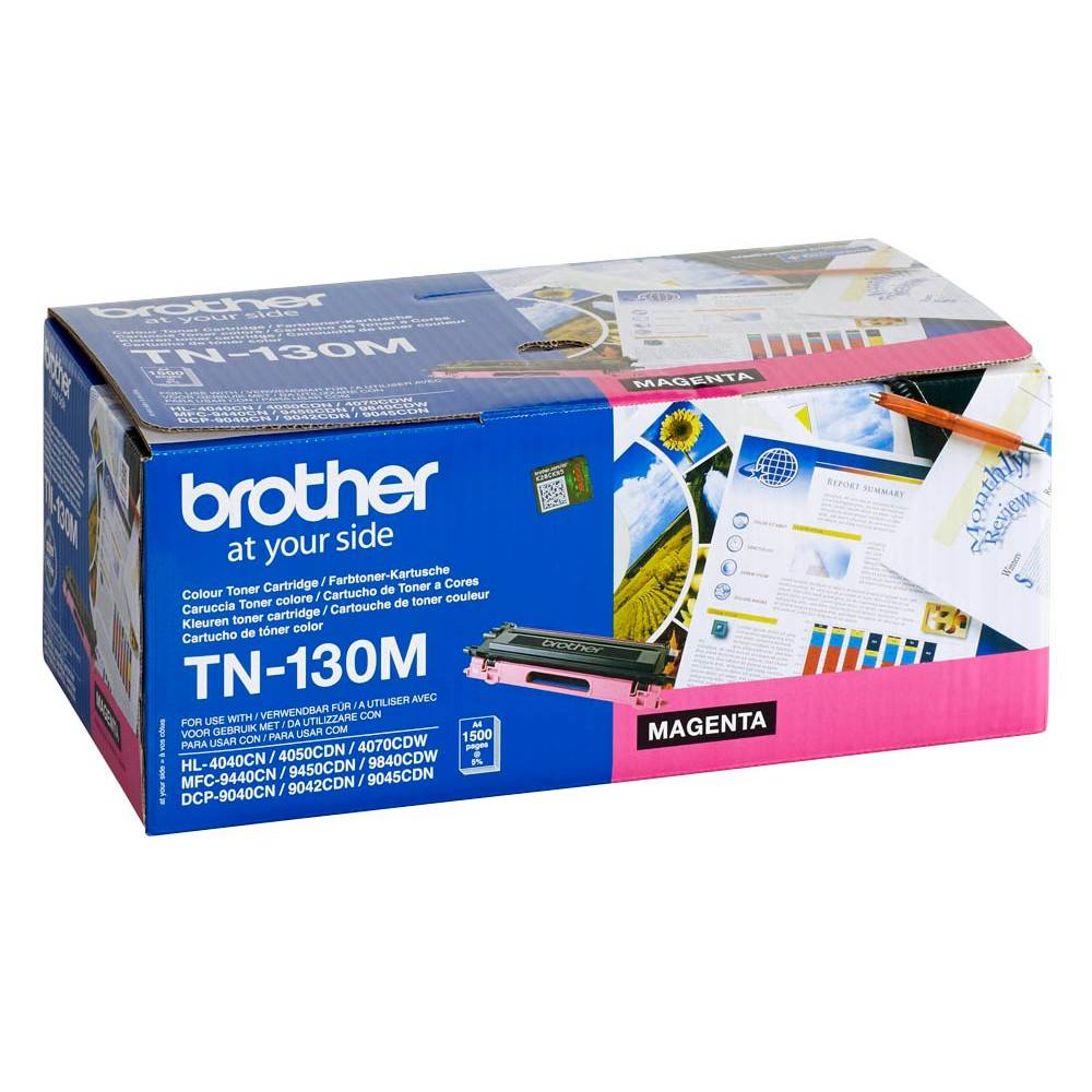 Brother Cartouche de toner d'origine Brother TN130M Magenta - TN-130M