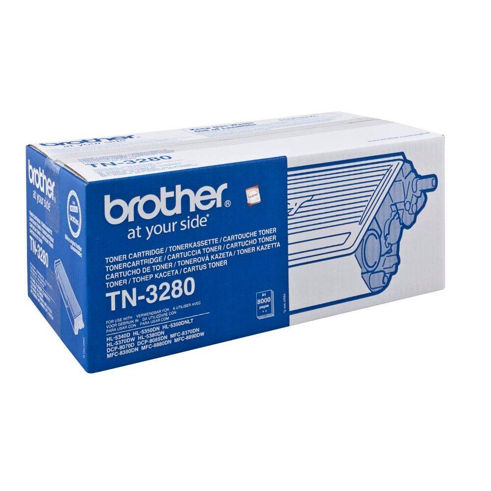 Brother Cartouche de toner d'origine Brother TN3280 Noir - TN-3280