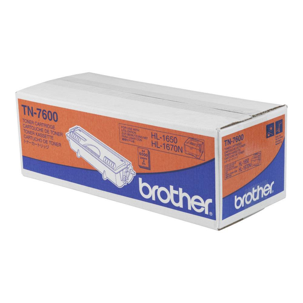 Brother Cartouche de toner d'origine Brother TN7600 Noir - TN-7600
