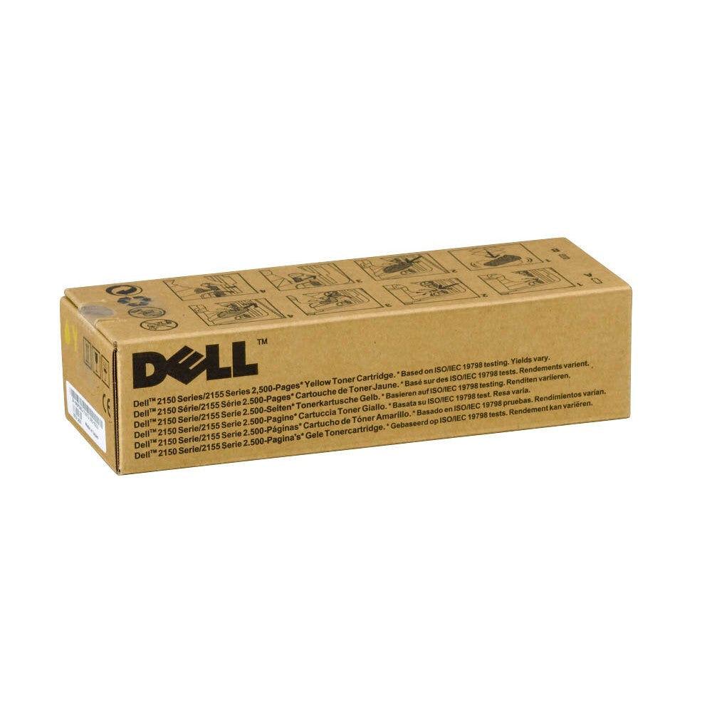 Dell Cartouche de toner d'origine Dell NPDXG Jaune - 593-11037