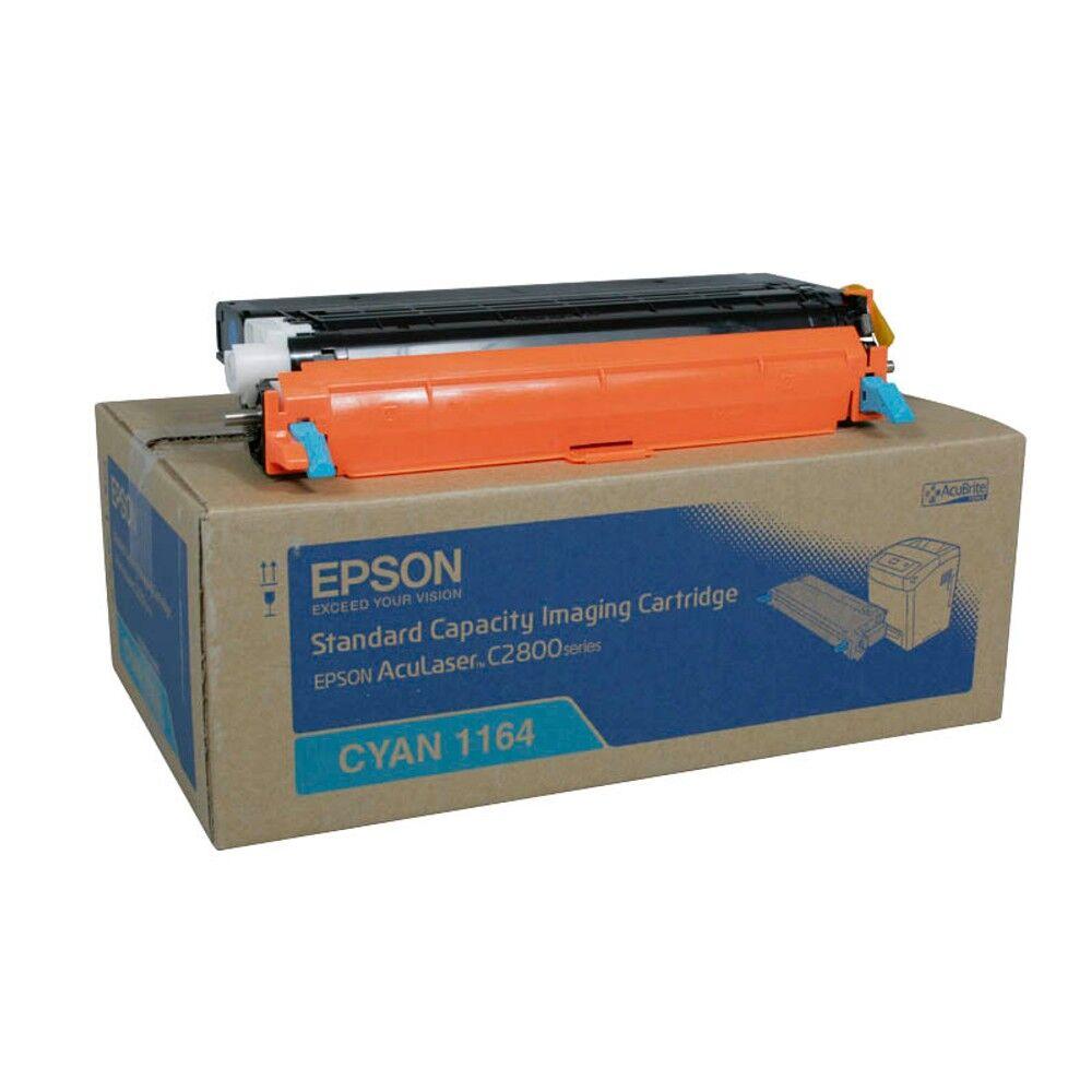 Epson Cartouche de toner d'origine Epson 1164 Cyan - C13S051164