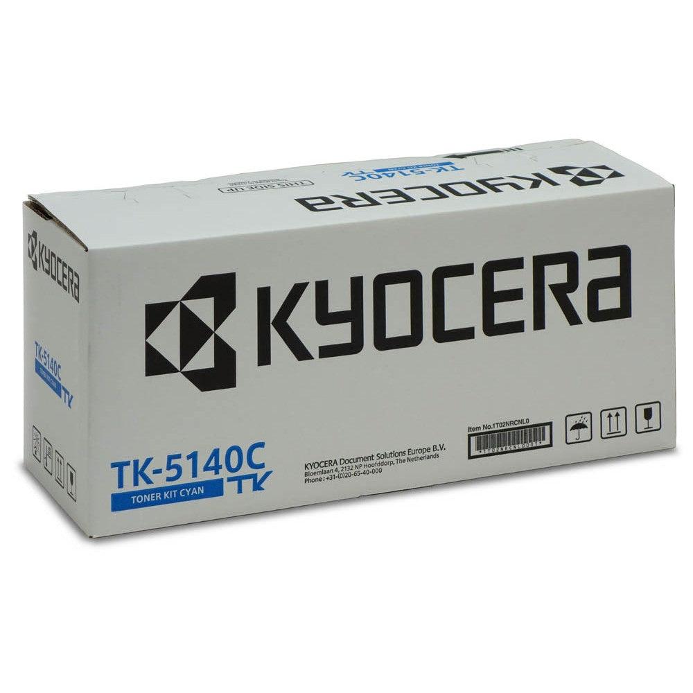 Kyocera Cartouche de toner d'origine Kyocera TK-5140C Cyan - 1T02NRCNL0