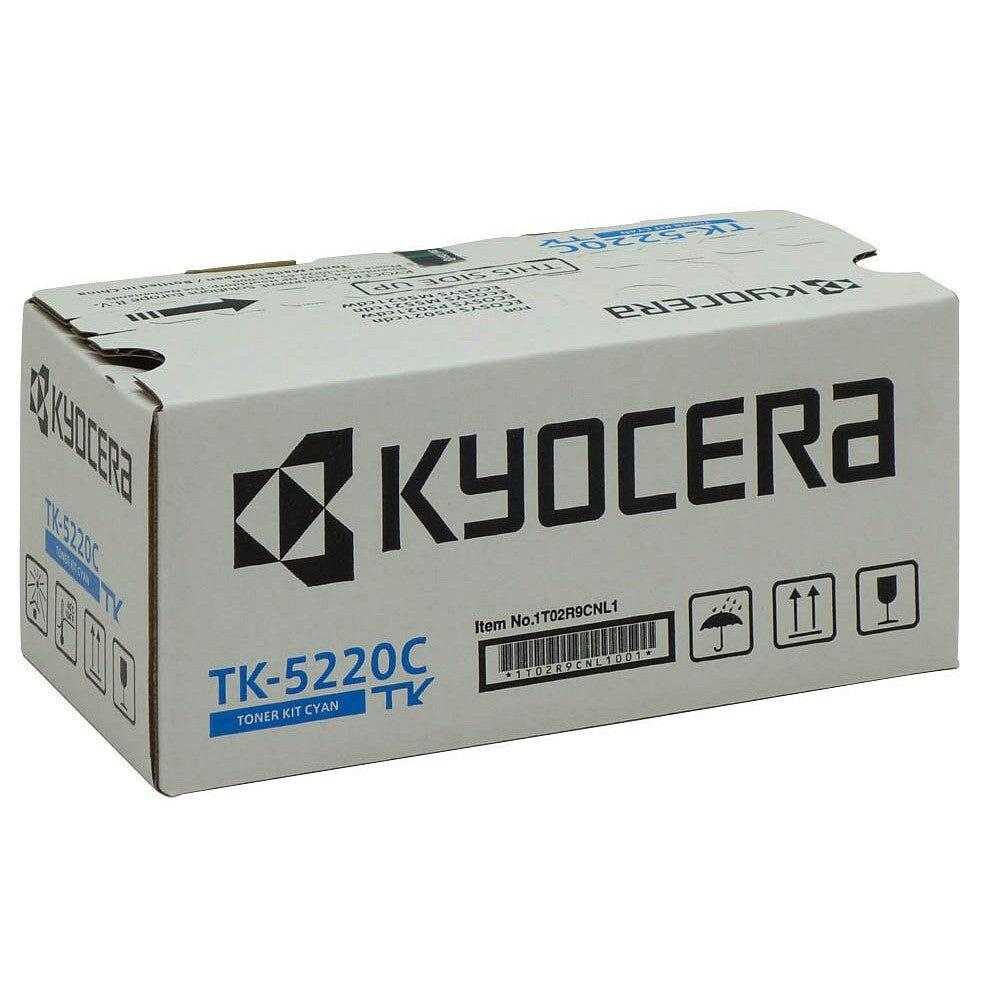 Kyocera Cartouche de toner d'origine Kyocera TK-5220C Cyan - 1T02R9CNL1