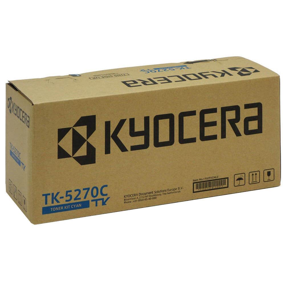Kyocera Cartouche de toner d'origine Kyocera TK-5270C Cyan - 1T02TVCNL0