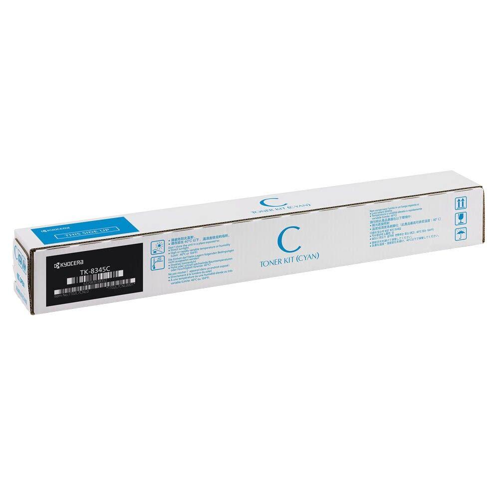 Kyocera Cartouche de toner d'origine Kyocera TK-8345C Cyan - 1T02L7CNL1