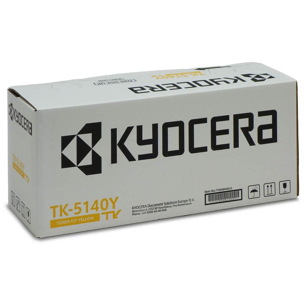 Kyocera Cartouche de toner d'origine Kyocera TK-5140Y Jaune - 1T02NRANL0
