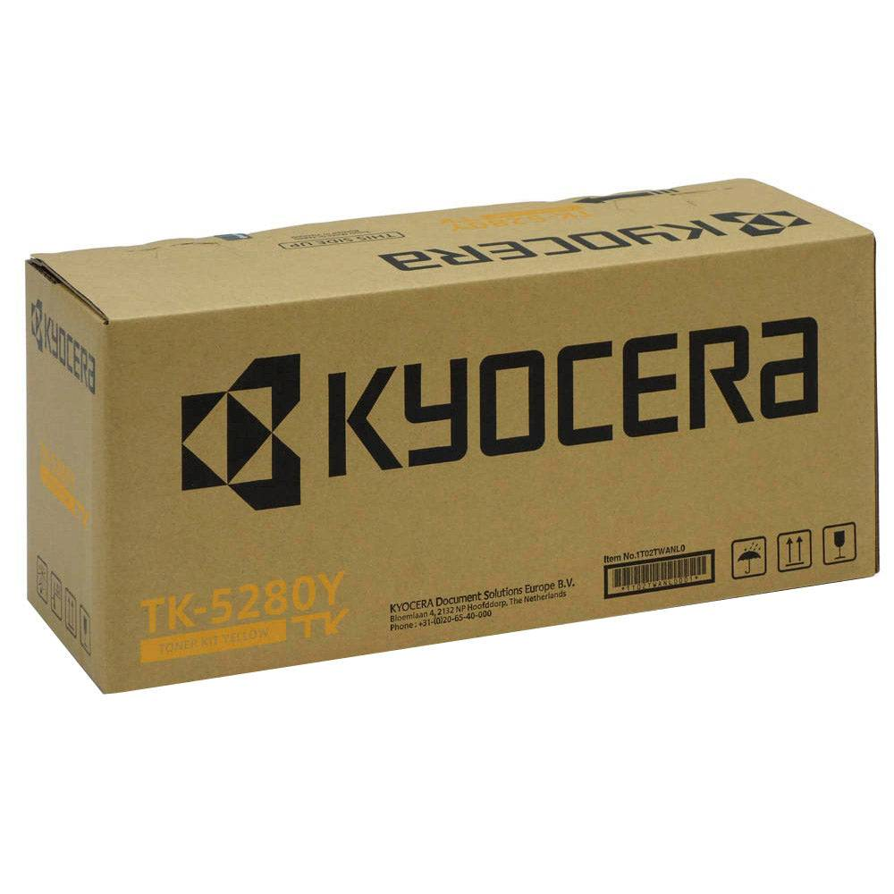 Kyocera Cartouche de toner d'origine Kyocera TK-5280Y Jaune - 1T02TWANL0