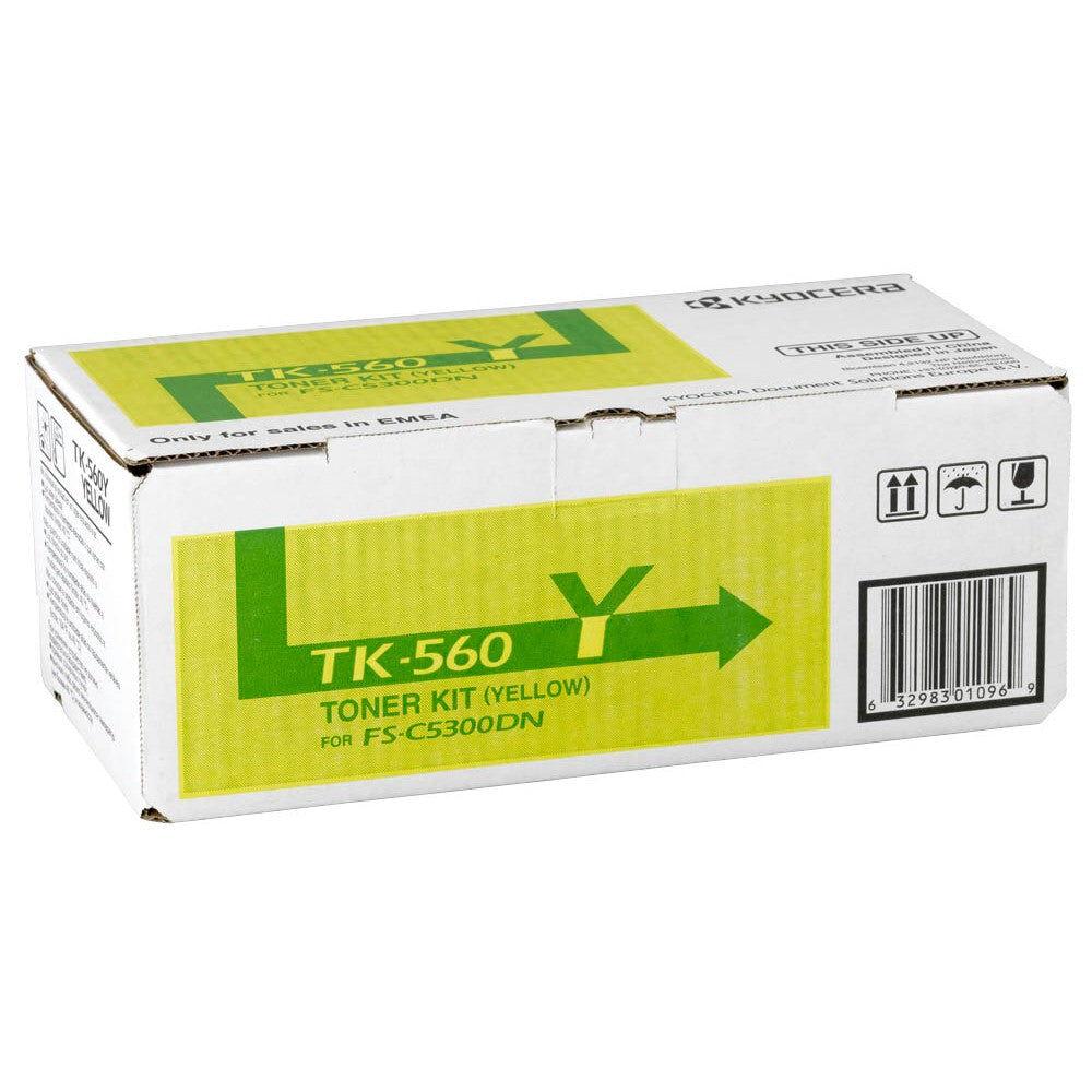 Kyocera Cartouche de toner d'origine Kyocera TK-560Y Jaune - 1T02HNAEU0