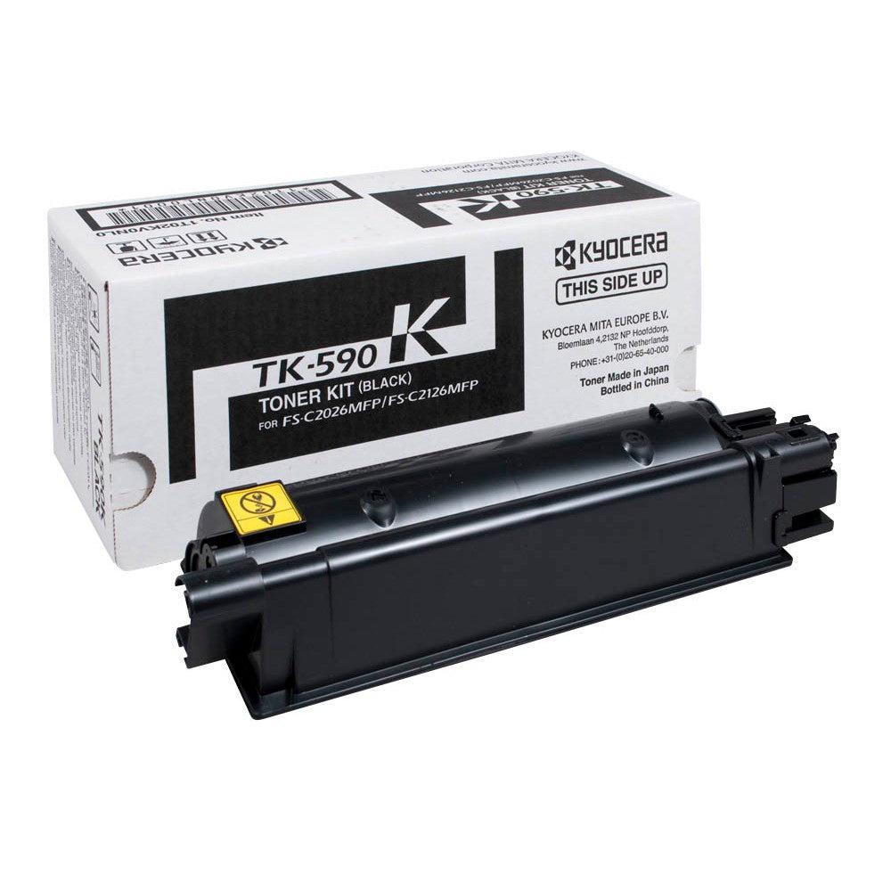 Kyocera Cartouche de toner d'origine Kyocera TK-590K Noir - 1T02KV0NL0