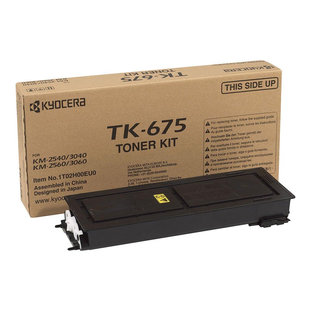 Kyocera Cartouche de toner d'origine Kyocera TK-675 Noir - 1T02H00EU0