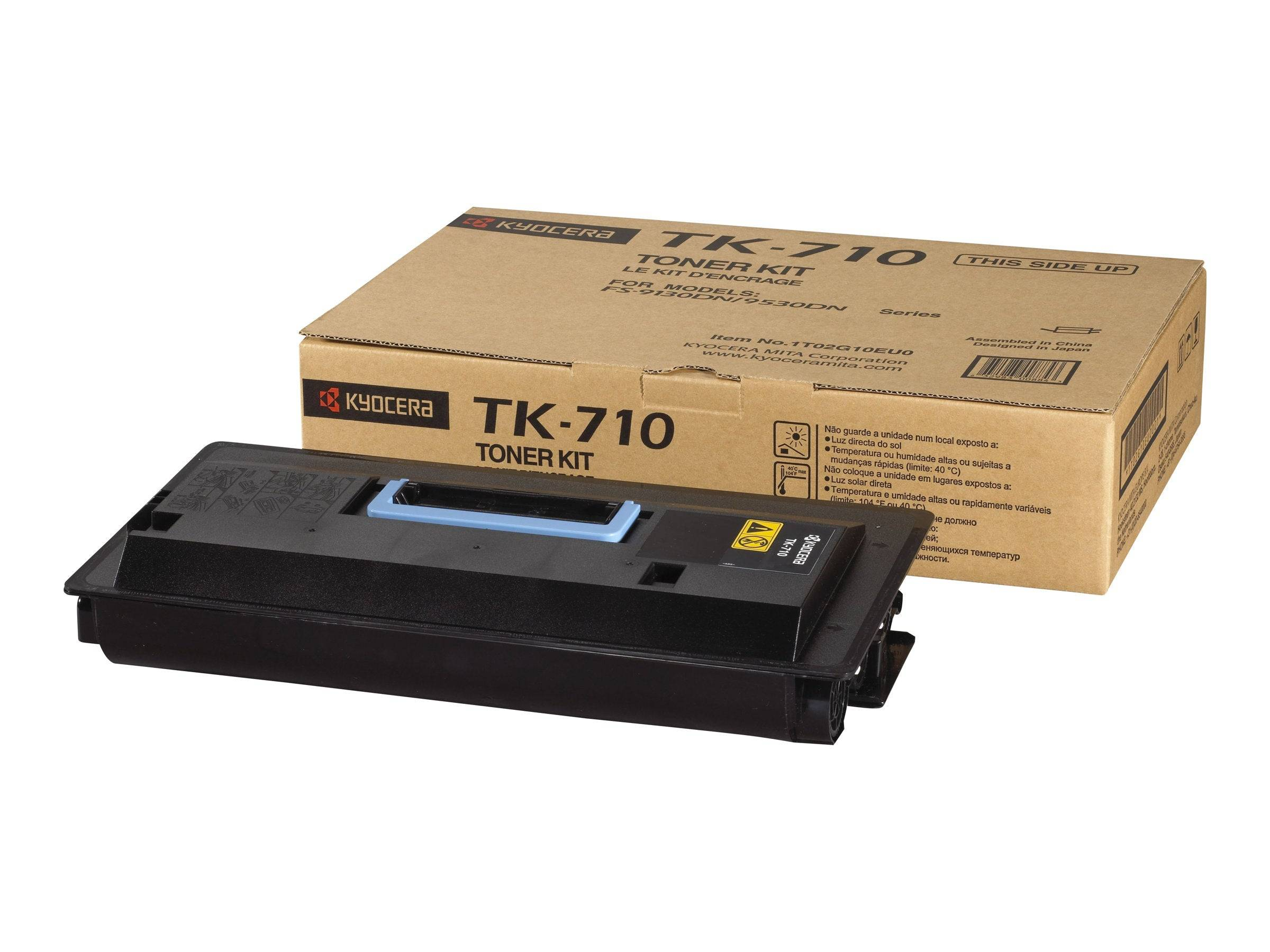 Kyocera Cartouche de toner d'origine Kyocera TK-710 Noir - 1T02G10EU0