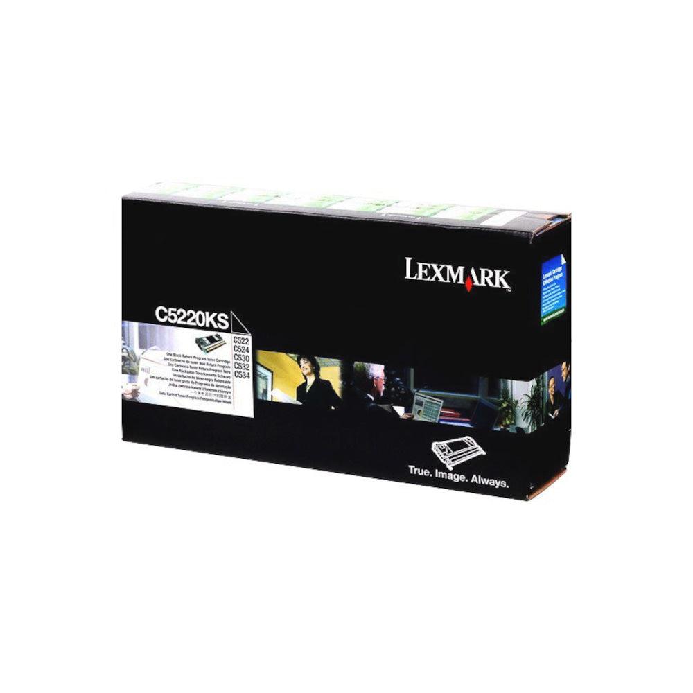 Lexmark Cartouche de toner d'origine Lexmark Noir - C5220KS