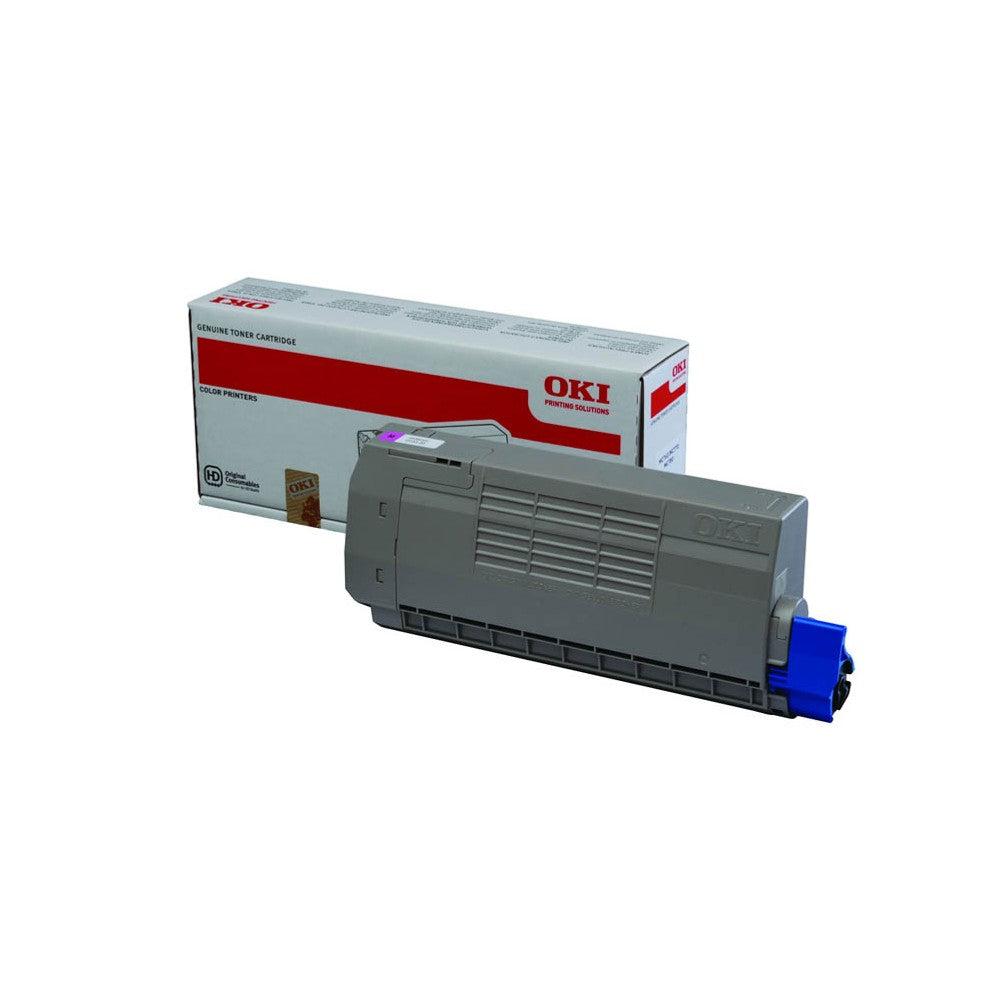 OKI Cartouche de toner d'origine OKI Magenta - 45396302
