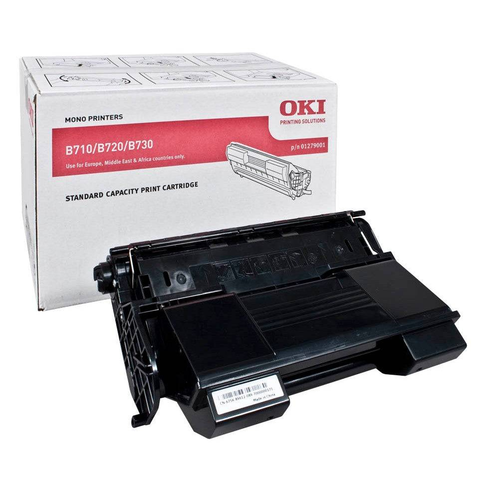 OKI Cartouche de toner d'origine OKI Noir - 01279001
