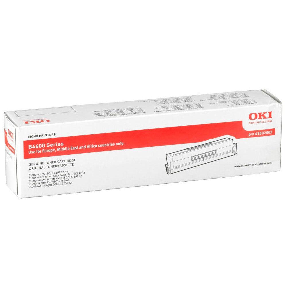 OKI Cartouche de toner d'origine OKI Noir - 43502002