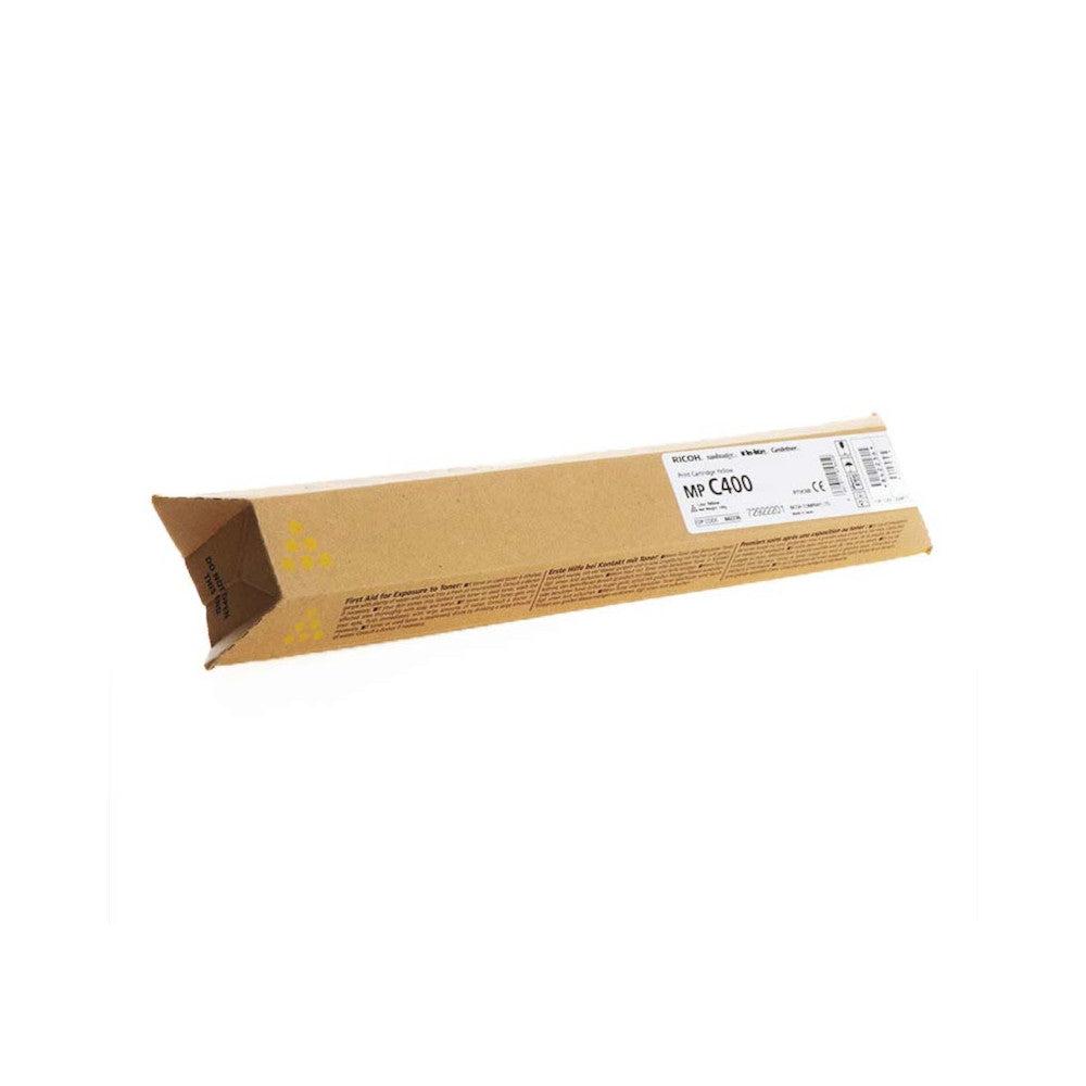 Ricoh Cartouche de toner d'origine Ricoh MP C400 Jaune - 842041