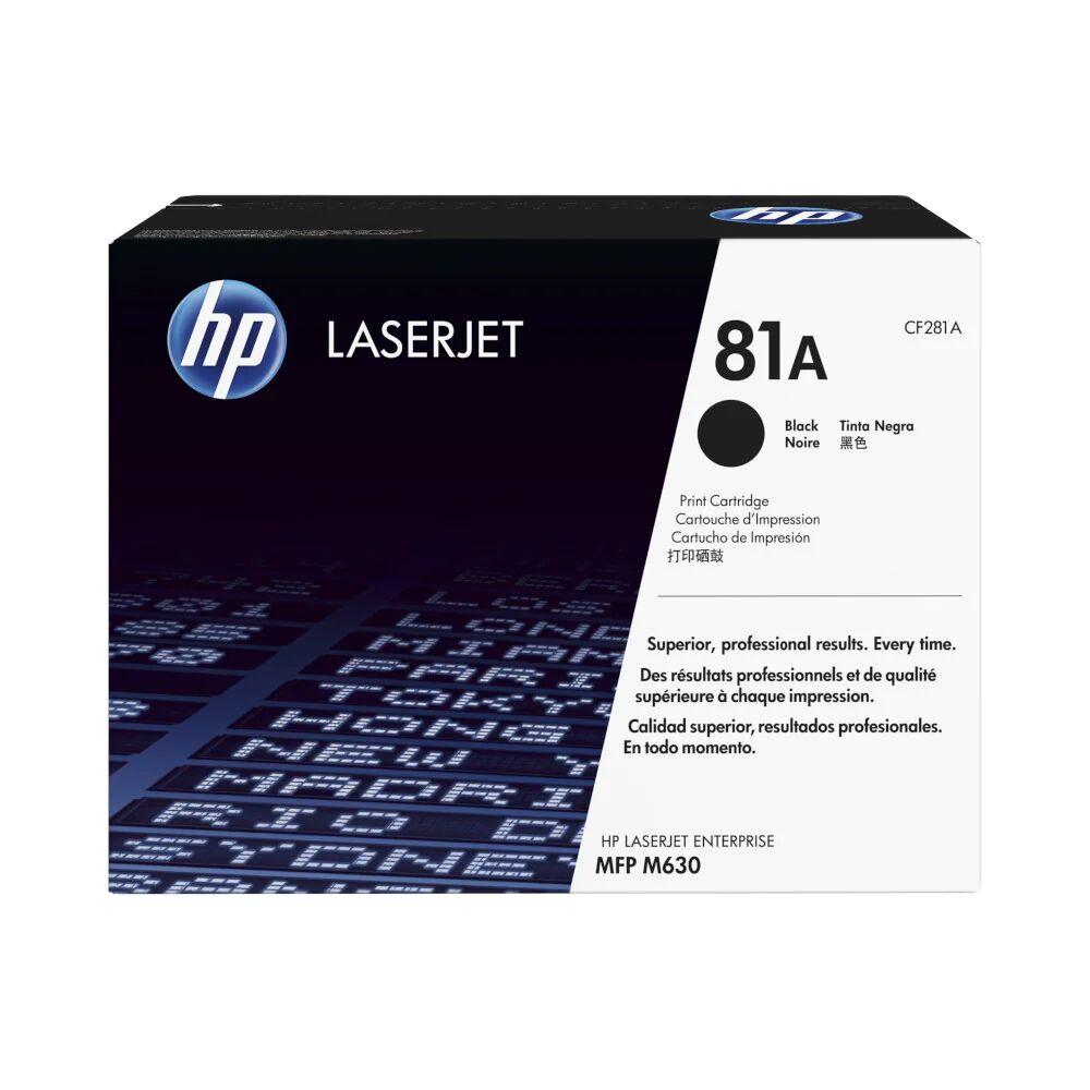 HP Cartouche de toner d'origine HP 81A Noir - CF281A