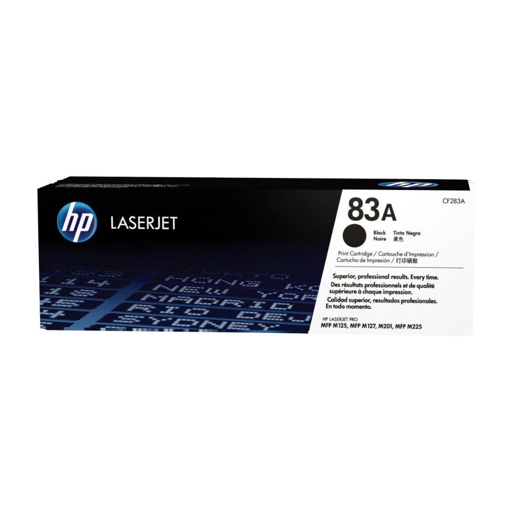 HP Cartouche de toner d'origine HP 83A Noir - CF283A