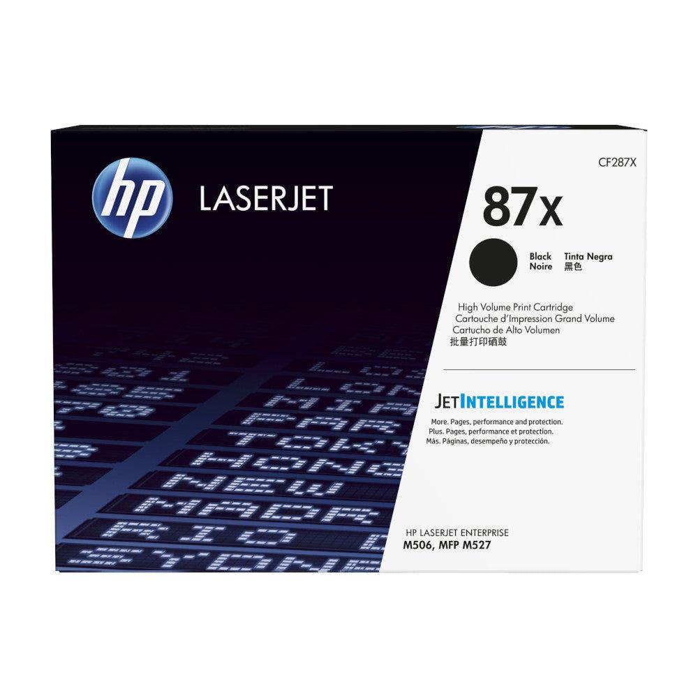HP Cartouche de toner d'origine HP 87X Noir - CF287X