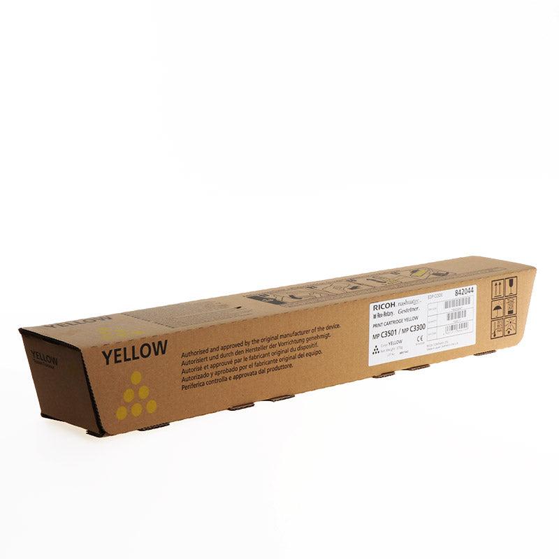 Ricoh Cartouche de toner d'origine Ricoh MP C3501 Jaune - 842044