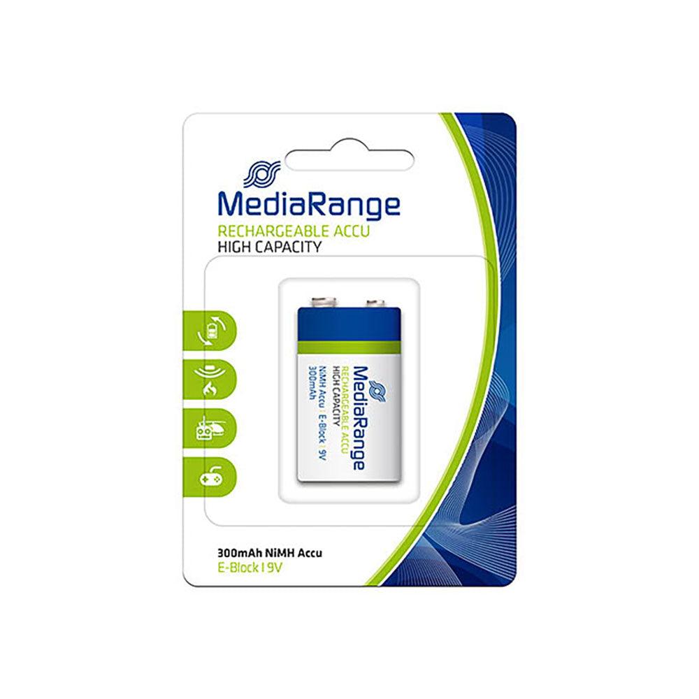 MediaRange Pile 6LH61 - HR22 - 9V rechargeable MediaRange - MRBAT124