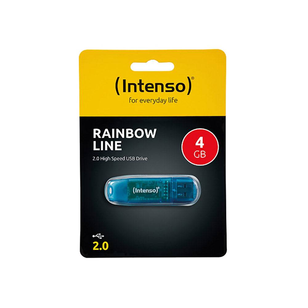 Intenso Clé USB 4Go Intenso Rainbow Line USB 2.0 - 3502450