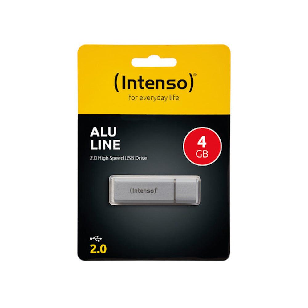 Intenso Clé USB 4Go Intenso Alu Line USB 2.0 - 3521452