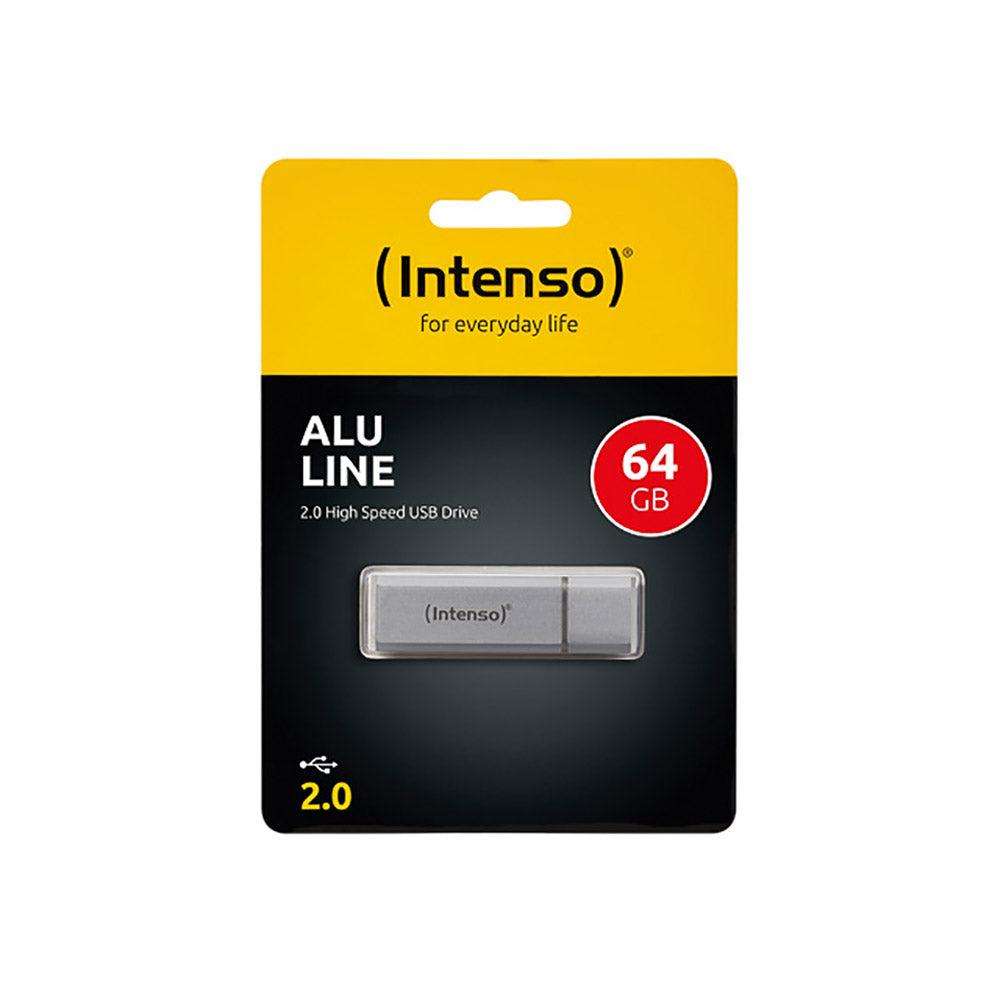 Intenso Clé USB 64Go Intenso Alu Line USB 2.0 - 3521492