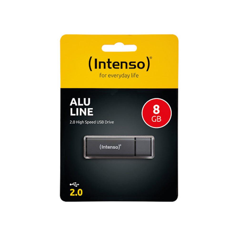 Intenso Clé USB 8Go Intenso Alu Line USB 2.0 - 3521461